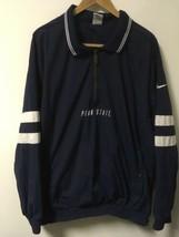 NIKE Penn State Nittany Lions 1/2 Zip Windbreaker Jacket Men's XL - $24.75