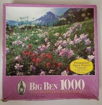 MB Big Ben Yankee Boy Basin, Colorado 1000 Piece Jigsaw Puzzle New and S... - $23.36