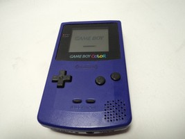 Purple Game Boy Color console - $30.62