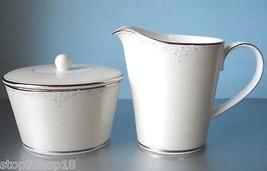 Monique Lhuillier Royal Doulton Modern Love Sugar Bowl & Creamer New - $72.90