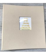 Bloomingdale's Beige Photo Album Canvas Cover 25 Pages Wedding Pictures ... - $17.81