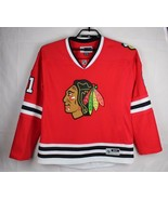 Reebok Chicago Blackhawks Hossa 81 Mujer Camiseta Costura Talla XL / TG - $41.83
