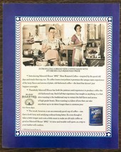 1990 Maxwell House 1892 Slow Roasted Coffee Print Ad Great Retro Image - $10.75