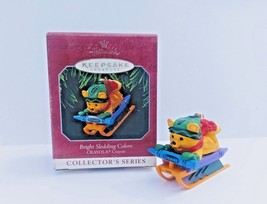 Hallmark Ornament Crayola Bright Sledding Colors 10th In Collector's Ser... - $12.30
