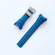 New Casio Genuine Replacement Band Belt Urethane Blue F/S - $75.20