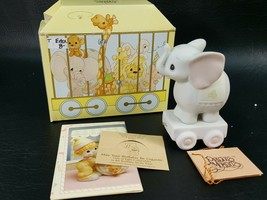 Precious Moments Birthday Train #4, Elephant 15970 with original box  PAEL9 - $5.95