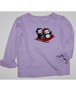 Gymboree NWT Girl's 6 12 Mo. Winter Penguin Lt. Purple Lavender Mixed Me... - $15.38