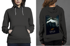 Classic Hoodie Black women Sven Rogue Knight - $28.99