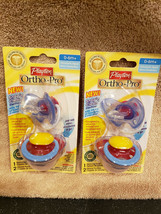Playtex Ortho-Pro Silicone Pacifier w/ Sterilizing Cover 0-6 Months 2 Packs (4) - $7.99