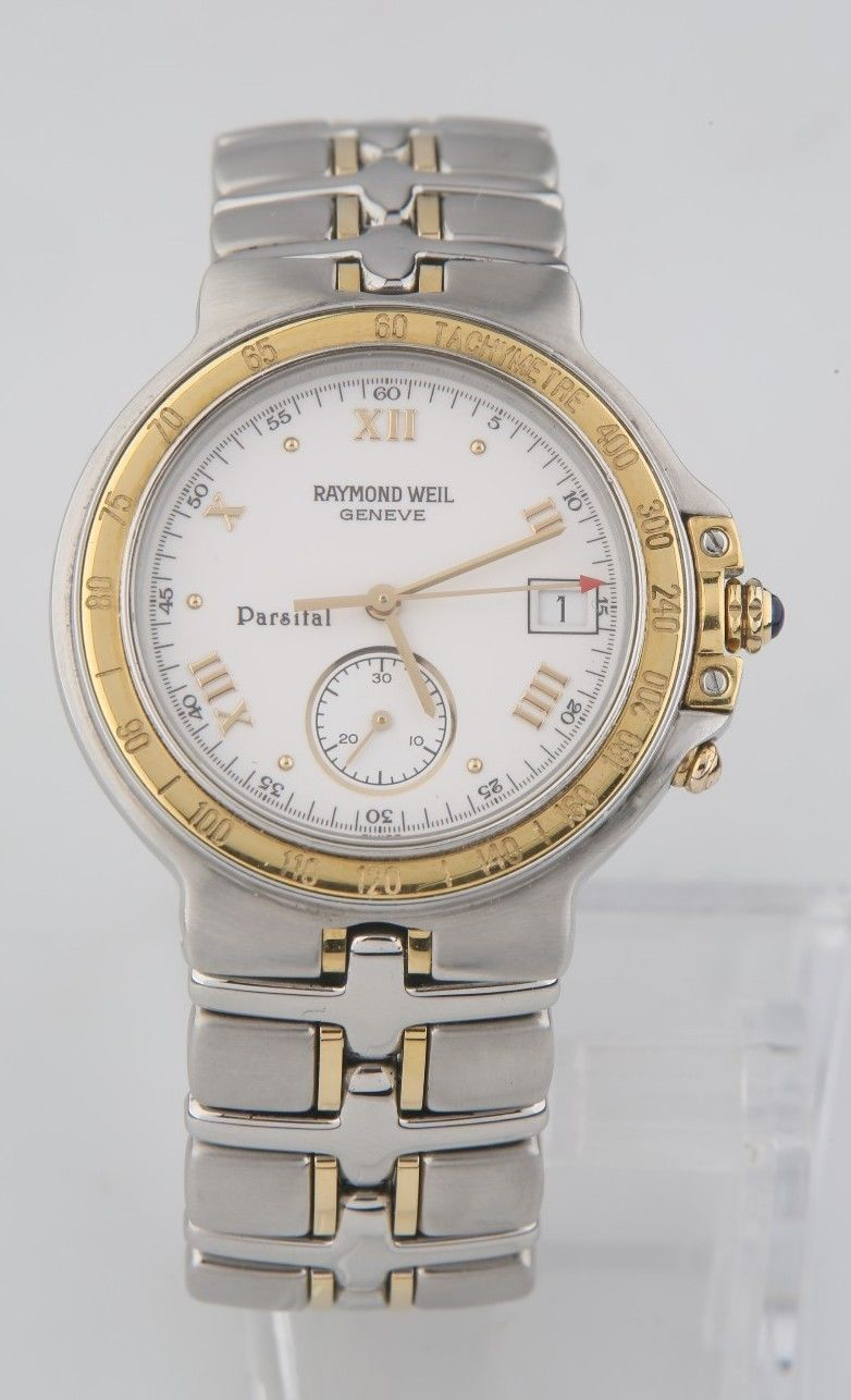 Raymond Weil Two-Tone Stainless Steel and 12 similar items