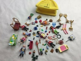 lot of playmobil People Tent Candelabra accessories birds  - $23.36