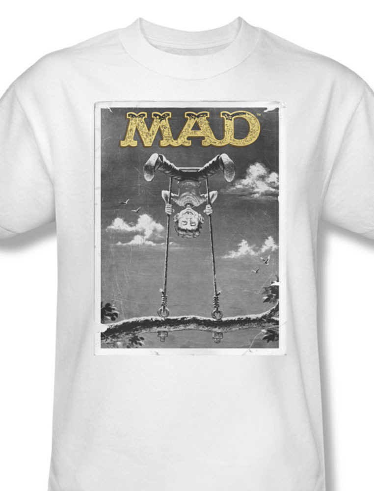 Mad magazine alfred newman tshirt retro 1970 s funny for sale online white graphic tee wbt348 at