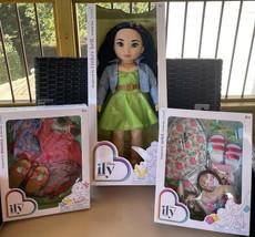 "DISNEY ily 4ever TINKER BELL inspired 18"" Doll Princess + Moana & Ariel ... - $139.99"