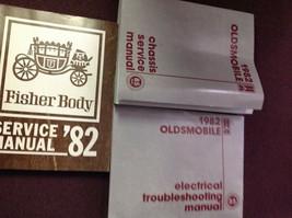1982 Oldsmobile Toronado Ninety Eight Delta 88 Cutlass Service Shop Manu... - $19.61