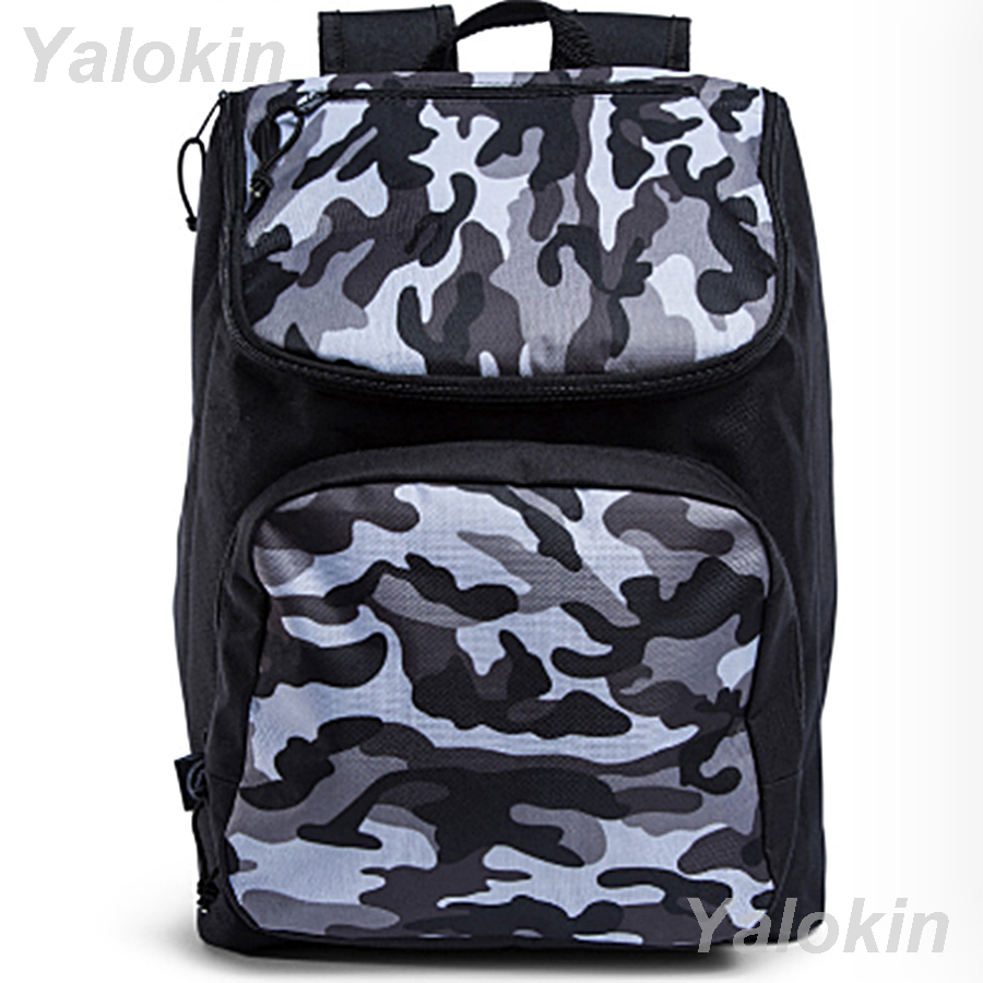 NEW Camouflage Black Lightweight Compact Size Fashion Backpack Shoulder Book Bag