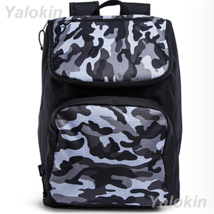 NEW Camouflage Black Lightweight Compact Size Fashion Backpack Shoulder ... - $23.99