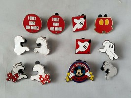 Disney Trading Pins Official Hands Mickey Mouse Theme Lot of 11 Collectible - $17.66