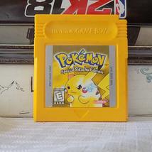 Pokémon: Yellow Version Pikachu Edition tested saves authentic Nintendo ... - $23.09