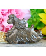 Vintage American Cocker Spaniel Show Dog Trotting Brooch Pin Figural - $24.95