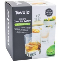 """Tovolo Sphere Clear Ice System  2.5 """" Mold Creates 2 Seamless Spheres New - ₨1,037.70 INR"""