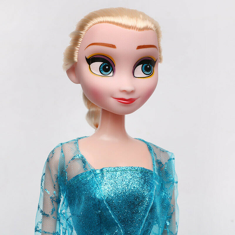 2Pcs Frozen Elsa & Anna Disney Princess Plush Doll Christmas Xmas Birthday Gift