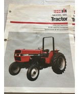 Lot of 4 Case IH Series Basic Tractor Specifications Sales Brochure Lite... - $3.99
