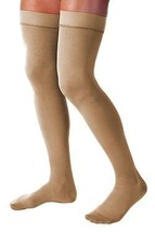 JOBST Relief 20-30 mmHg Compression Socks, Thigh High with Silicone Band... - $51.99