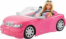 *Barbie Barbie and go out! Cute pink car FPR57 - $35.46