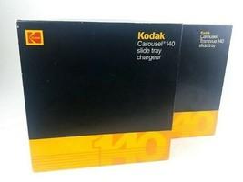 Lot of 2 Kodak Carousel Transvue 140 Slide Trays Eastman Kodak Lot of 2 - $46.66