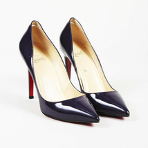 """Christian Louboutin Patent Leather """"Pigalle"""" Pointed Pumps SZ 40.5 - $342.00"""