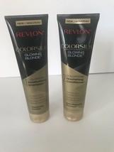 Revlon Colorsilk Glowing Blonde Colorstay Moisturizing Shampoo & Conditioner New - $17.74