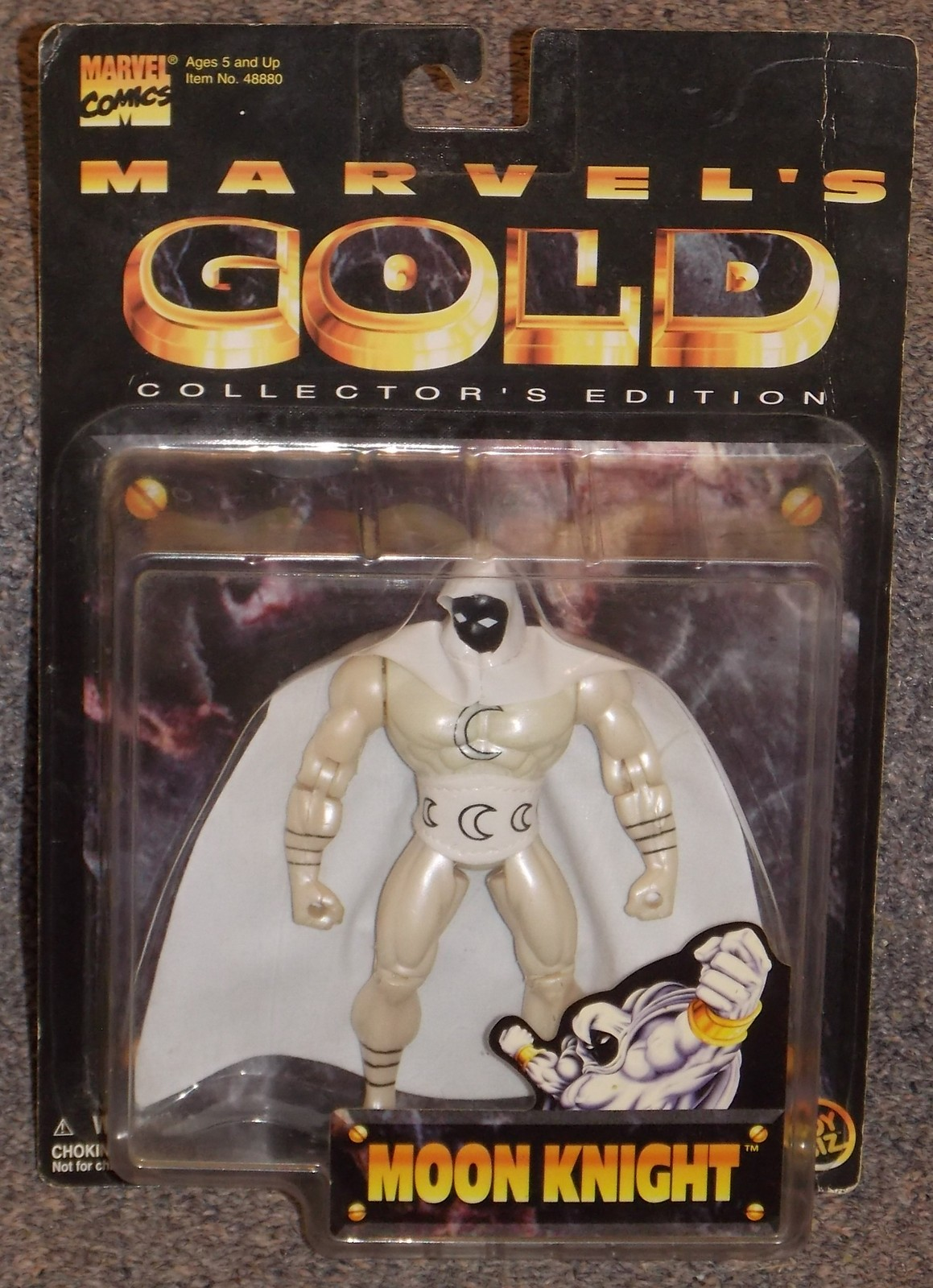 Vintage 1997 Marvel Comics Moon Knight Action Figure New In The Package image 2