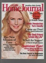 Ladies' Home Journal - June 2006 - Nicole Kidman, Stress-Free Time, Head... - $0.97