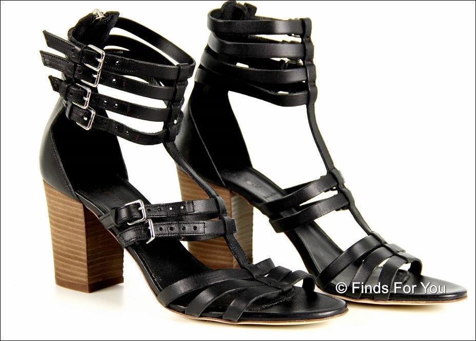 623a4c6a392 S l1600. S l1600. Previous. J Crew T-Strap Gladiator High Heel Sandals 9  A1836 Black Womens Shoes