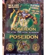 POSEIDON PLATINUM 10000 GREEN MALE ENHANCEMENT 24 COUNT BOX - $121.99