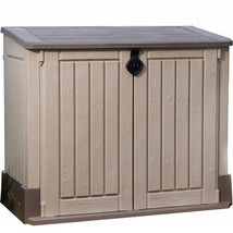 Patio Storage Cabinet 30-Cu Ft Inches Outdoor Garden Polyethylene Shed O... - $182.43