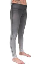 Bench Women's Black to Faded Gray Baddah Leggings Fitness Yoga Pants NWT image 2