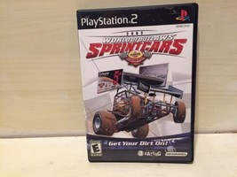 World of Outlaws Sprint Cars Sony PlayStation 2 2002 PS2 - $22.24