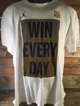 Jordan Brand Gewinnen Jeden Tag Marquette University Mu T-Shirt Größe XL - $22.21