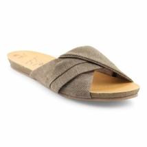 Blowfish Malibu Womens Garliss Sandals, Mud Smokey Twill, 8 - $57.24