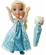 Disney Frozen Sing Along Elsa Doll With Microphone NIB - $69.29