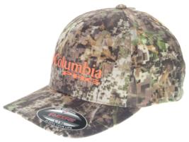 Columbia Sportswear CU9152 Men's Women's PHG Camo Ballcap, Flexfit Hat - $30.00