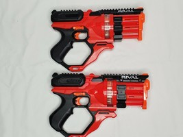 2 Red NERF Rival Roundhouse XX 1500  - $40.00