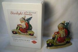 Vaillancourt Folk Art 2014 Starlight Santa on Scooter Personally Signed by Judi! image 6