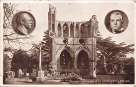 SCOTLAND DRYBURGH ABBEY~TOMB SIR WALTER SCOTT & EARL HAIG ~PHOTO POSTCAR... - $4.20