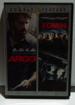 """Ben Affleck Double Feature 2 DVD set """"Argo"""" and """"The Town - $5.00"""