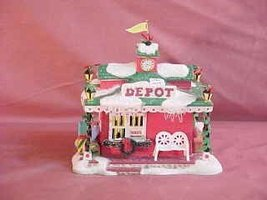 Department 56 Snowball Express Depot - $25.73