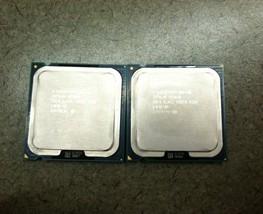 Matched Pair Intel Xeon 3070 SLACC Dual Core 2.66 Ghz CPU Processor Socket 775 - $20.00