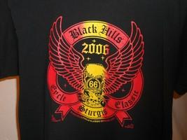 2006 Sturgis T-Shirt Men's Sz Large Black Hills Motorcycle Rally 66th An... - $19.95