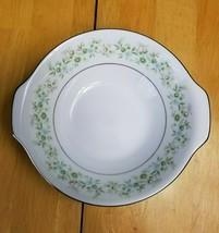 Noritake China Savannah Lugged Cereal Bowl Multicolor Floral Rim Platinum Trim - $7.87